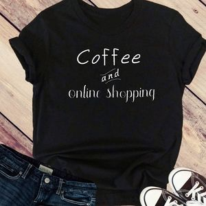 Coffee and Online Shopping Tee